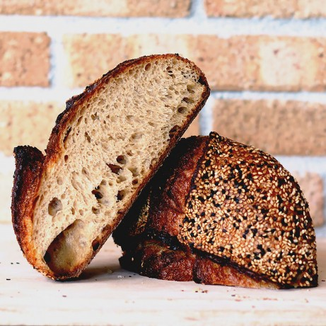 Sourdough Miso Sesame