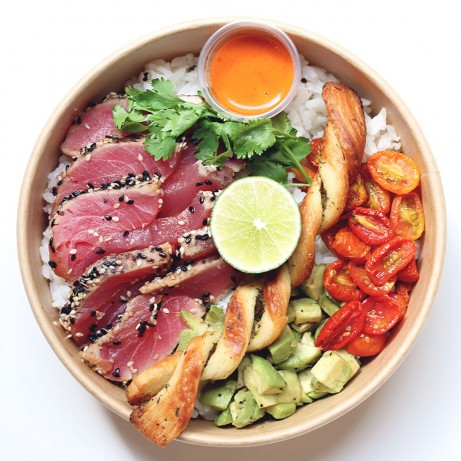 Seared Maguro Tuna Bowl